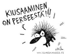 Upotettu kuva Live Life, Jokes, Sayings, Finland, Fictional Characters, Animal, Home Decor, Decoration Home, Husky Jokes