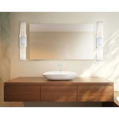 """Guest Bath, Bath 3 & 4 - Possini Midtown 23 1/2"""" High Chrome Bath Bar Light Fixture                                         Style # T9731"""