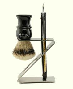 dovo brush and razor stand
