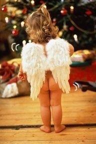 little angel...omg this is freakin cute!