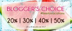 Amostras e Passatempos: Blogger's Choice by Skin