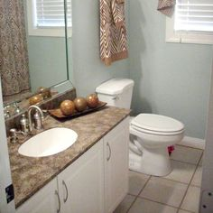 Chocolate Brown Bathroom 2