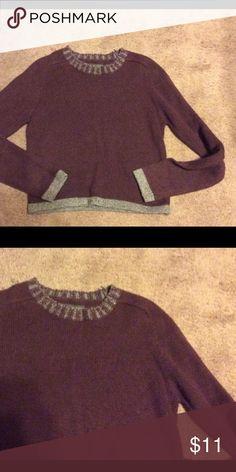 d77de99f57b8 Copper Key sweater cropped new no tag Sz M