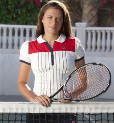 Vera Zvonareva for Fila.  April 2012.  #tennis