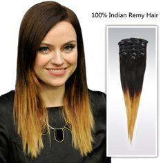 Ombre Clip Ons