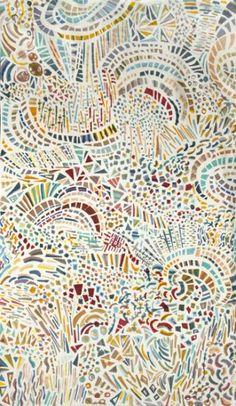 Mooie mozaiek (spatwand inspiratie?)
