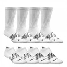 Kids' Solids Calf & Ankle One Color Eight Pack