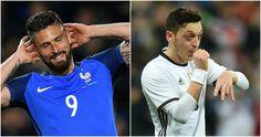 Euro 2016 - Ozil a key threat warns Giroud The Man, Euro, Football, Key, Soccer, Futbol, Unique Key, American Football, Soccer Ball