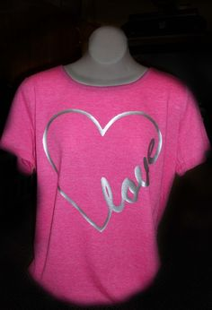 Use this fun design or customize your shirt with your name or your sweetheart's name.