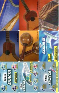 9 Phonecard / Tarjeta Telefonicas Venezuela  Los sonidos del Joropo y Public