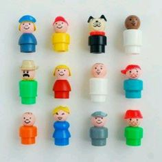 Fisher Price Little People ~ my grandchildren are playing with their parent's very same Little People ~ from the late 70's