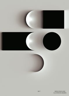 In this design, alternating rhythm is demonstrated through patters and sequence. This pattern isn't the exact same thing on each line, it alternates between different shapes such as the circle and the square which allows for a rhythm that sweeps the eye across the surface of each shape on the page. The rhythm feels vast b/w the circle and rectangle causing there to be a slower pitched tune.