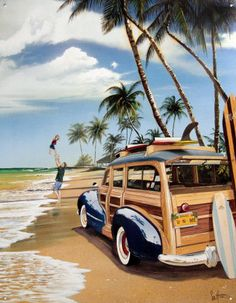 The Beach. In Caribbean Freedom, third Island Legacy Novel, Mariela's grandfather drives a Woodie Wagon like this one. Caribbean Freedom releases April 6, 2013. For more info visit me at www.terimetts.com and ck under Novels.