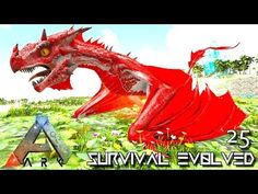 Awesome ARK: SURVIVAL EVOLVED: BABY ALPHA WYVERN U0026 GRIFFIN E25 !!! (