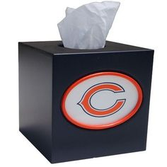 Fan Creations NFL Tissue Box Cover NFL Team: Chicago Bears