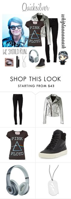 """""""Quicksilver (Days of Future Past)"""" by ghostpvnk ❤ liked on Polyvore featuring Chloé, Quiksilver, Yves Saint Laurent, RtA, Floyd, Vince, Beats by Dr. Dre, A.V. Max, Christian Dior and BridgetsMarvelFashion"""