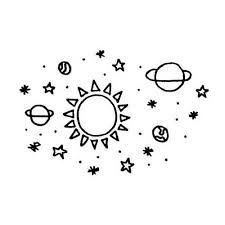 「planets galaxy drawing」的圖片搜尋結果