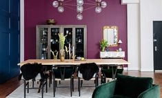 A Plush Chelsea Loft Encrusted in Jewel Tones, Design*Sponge