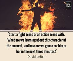 How to write fight scenes and action that grips readers