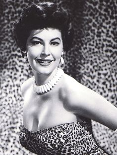 gatabella:  Ava Gardner   pinterestluxury  Love Leopard