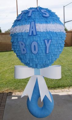 Hey, I found this really awesome Etsy listing at https://www.etsy.com/listing/154898260/baby-rattle-pinata