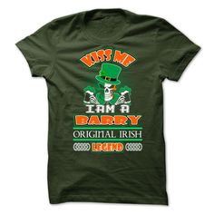 Kiss Me Iam A Barry T Shirts, Hoodies. Check price ==► https://www.sunfrog.com/Names/Kiss-Me-Iam-A-Barry.html?41382 $23