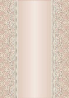 Vintage Lace Panel A4 Background Salmon on Craftsuprint designed by Karen Adair - This is a pretty A4 sized background with a lace edged central panel. Great to line the outside of an A5 sized landscape tent card, or as an insert. Or whatever else you can think of! If you like this, check out my other designs, just click on my name. - Now available for download!