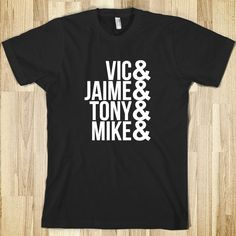 They guys must be your idols, right? So, since you own 5+ band shirts and various merch, why not get this shirt as well? Yeah? Yeah?