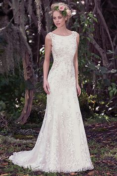 Wedding gown by Maggie Sottero (Style Aspen).