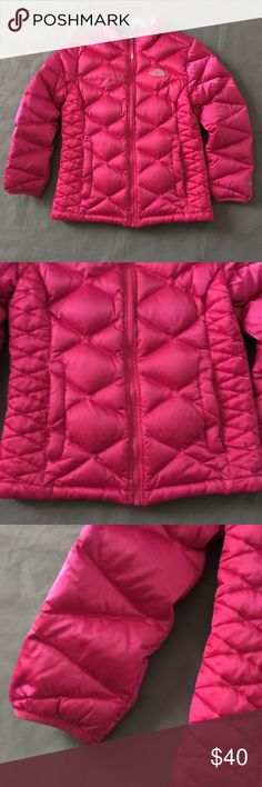 North Face Aconcagua Quilted Jacket Girls Lg 14 16 Some light dirtying along the edges. Otherwise great condition. Check out our closet for great bundle offers! Price firm unless bundled! North Face Jackets & Coats Puffers