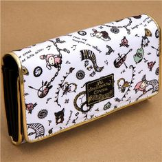 big Sentimental Circus wallet with circus animals