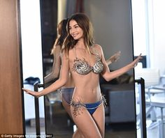 Model of the moment: Lily Aldridge has been chosen to wear the Fantasy Bra at this year's ...