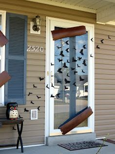 DIY Halloween Decor: Bats & Boards | The Rush of Life