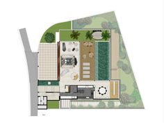 Residencia Limantos,Planta primer piso