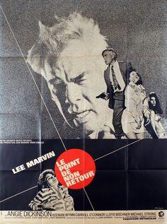 French grande for POINT BLANK (John Boorman, USA, 1967) Designer: Vaisseur Poster source: EBay
