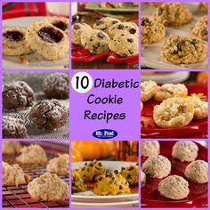 10 Diabetic Cookie Recipes - Perfect for Christmas or any time!