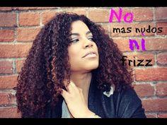 ELIMINA EL FRIZZ Y LOS NUDOS - YouTube