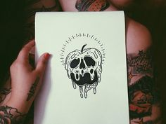 drawing art disney tattoo Witch snow white evil sharpie witchcraft flash tattoo flash poison apple