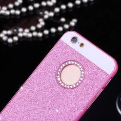 Luxury Bling Diamond Glitter Powder Phone Cases For iphone 7 6 6S Plus SE 5 5S