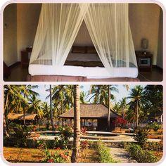 Home for the next 3 days - nice! #upsticksandgo #travellingtheworld #lombok #giliT #indonesia #lovelyspot #trawanganoasis #islandparidise