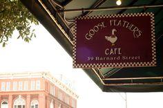 Goose Feathers Cafe..Savannah GA Breakfast...