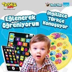 Çocuğunuz eğitici tablet ve dokunmatik telefonla eğlenirken öğrenecek. Toyzz Shop Buyaka Kat 1'de.