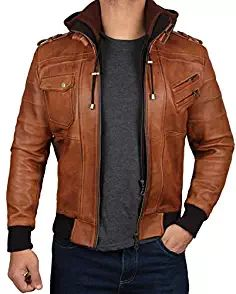 Boston New Tan Ladies Woman/'s Retro Designer Real Soft Sheep Napa Leather Jacket