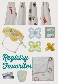 Registry Favorites from The Ultimate Registry Checklist.  Ideas & recommendations for the nursery & helping the baby sleep!