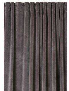 Inspirationsbild gardiner sammet till mötesrum. Takhängda!!!