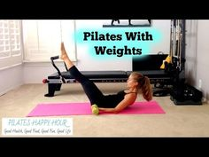 Pilates Workout With Weights - YouTube