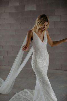 Made With Love Bridal Georgie Dunedin — Bride & Winter Bridal Wedding Dresses, Designer Wedding Dresses, Bridal Collection, Dress Making, New Dress, Perfect Fit, Dream Wedding, Tulle, Bride