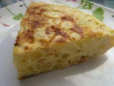 La Cocina de Mery a Dieta: TORTILLA DE PATATAS Y CALABACIN / 6 PROPOINTS POR TROZO (1/4 PARTE)