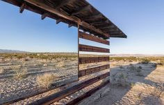 Phillip K Smith III: Lucid Stead (Joshua Tree, California 2013) ...what happens when you put rows of mirrors on a shack in the desert.