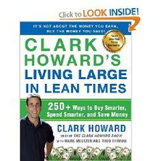 Clark Howard's new book - LOVE Clark Howard!